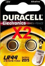 4 Piles DURACELL PLUS LR44 ORIGINALES 1,5V. A76 /KA76 Val : 2020
