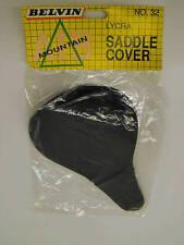 FIXIE/RACER/MTB BLACK LYCRA BIKE SADDLE COVER