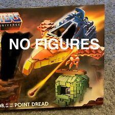 NO FIGURES! Mega Construx Masters Of The Universe Point Dread