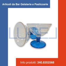 PZ 4 COPPA GELATO IN PLASTICA TRASPARENTE400 CC  RIUTILIZZABILE E LAVABILE