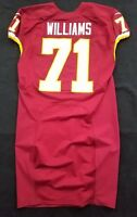 #71 Trent Williams of Washington Redskins NFL Game Issued Jersey