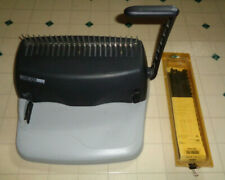 General Binding Corporation Gbc Docubind P100 Binding Machine System With Combs