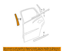 Buick GM OEM 05-09 LaCrosse Exterior-Rear-Applique Window Trim Right 15876380