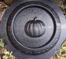 Pumpkin mini birdbath mold bird feeder plastic mould