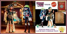 Monster High SDCC 2017 Cleo de Nile and Ghoulia Yelps 2 Pack Exclusive Doll Set
