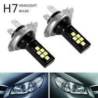 2x H7 Kit LED Voiture Ampoules Phares Antibrouillard SMD 120W lumineux LD1849 G