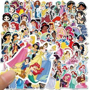 Disney Princess Stickers Frozen Mickey Toy Story Winnie the Pooh Waterproof