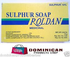 Roldan Dominican Jabon de azufre sulphur soap germicidal for acne wool sebhorrea