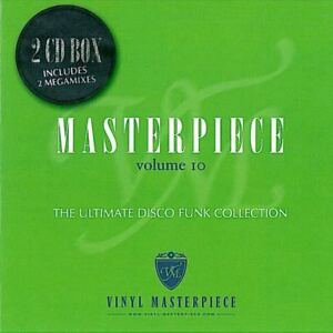Masterpiece Vol. 10 - The ultimate disco funk collection  new 2-cd   great mixes