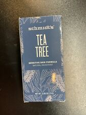 Schmidt's Tea Tree Sensitive Skin Deodorant 2.65oz