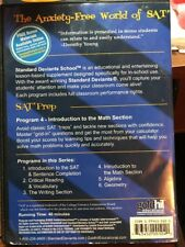 Standard Deviants School - New SAT Prep , Prog New DVD, 2005 Intro Math Section