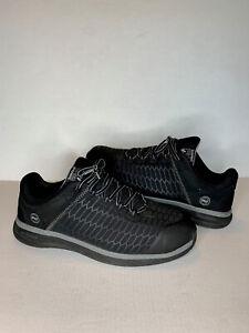 Timberland PRO Mens Drivetrain Composite Toe Work Shoes Size 15 Black A1RVF $125