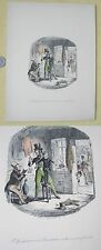 Vintage PRINT,John LEECH,Gudge,Christoper,Suit-Clothes,19th Century