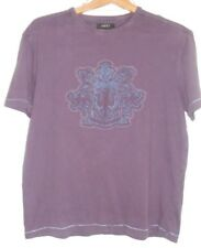 NEXT mens T shirt size M -  plum casual classic short sleeved round neck motif