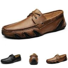 New Mens Pumps Slip on Loafers Breathable Faux Leather Driving Moccasins Shoes L
