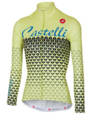 Castelli Black Long Sleeve Cycling Jerseys