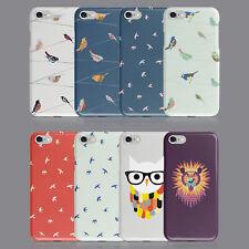 Shabby Chic Búho Pájaro Funda De Teléfono Para iPhone 5S se 6 7 8 XS XR Samsung S8 S9 Plus