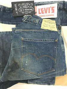 Levi's Vintage Clothing LVC Vault Piece 1915 201 Jeans Levis USA 350 Denim Levi