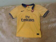 Boys 12-13 Years - Arsenal FC Yellow Shirt - Nike