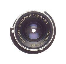 Voigtlander Color-Skopar 1:3.5/50 Camera Lens Sold as is