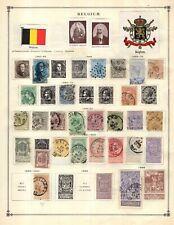 Kenr2: Belgium 1840-1940 Collection from 7 Vol Scott Intern Albums