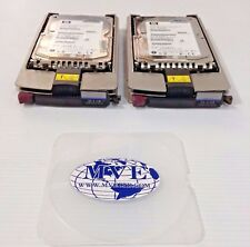 HP 306641-002 BF036863B5 36.4-GB 15K RPM WIDE ULTRA320 SCSI HARD DRIVE LOT OF 2