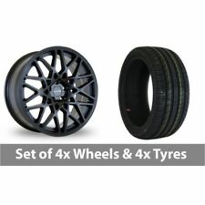 2 Dare One Piece Rim Wheels with Tyres