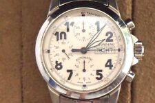 Tourneau 3 Chrono swiss watch de 7750 water resistant 100m/300ft with sapphires