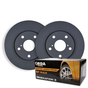REAR DISC BRAKE ROTORS + PADS for Subaru Forester SH 2.0TD 2.5L 2008-2013