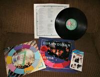 Duran Duran vintage Arena delux lp vinyl live 1984 original must see Roger Andy