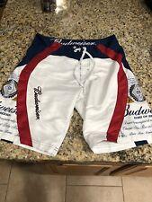 vintage budweiser Swim Shorts Size-32