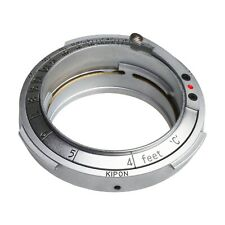 New Kipon Adapter for Contax RF Rangefinder Mount Lens to Leica M39 L39 Camera