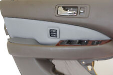 Insert Door Panel Cover PVC Synthetic Leather for Acura RL 1998-2003 Gray