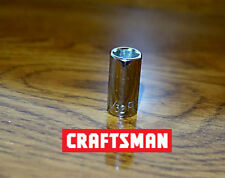 "Craftsman 1/4"" Drive Vintage Sockets -G- 6pt 11/32"" Made In USA Free Shipping"