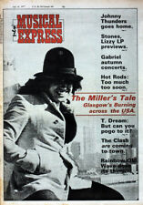 NME 16 JULY 1977 . FRANKIE MILLER COVER . JULIE CHRISTIE . SEX PISTOLS . KISS
