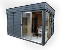 TOP NEU Gartensauna Sauna Cube 4x3m Gartenhaus cube Kube Saunahaus pavillon
