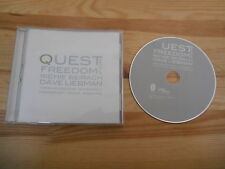 CD Jazz Richie Beirach - Quest For Freedom (7 Song) SUNNYSIDE COM cut out