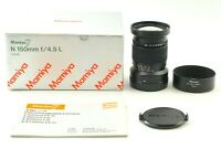 【 TOP MINT  in Box 】Mamiya N150mm f/ 4.5 L MF Lens for Mamiya 7 7II from JAPAN