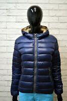 COLMAR Donna Giacca Piumino Giubbotto Blu Taglia 42 Giubbino Woman Jacket Women