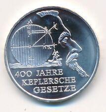 Deutschland 10 € Euro Silber 2009 Keplersche Gesetze unz.-bfr.