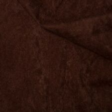 100% Polyester Faux Suede Look Suedette Dressmaking Fabric Material