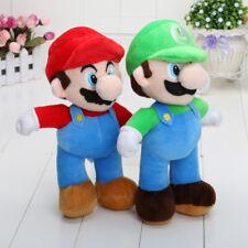"""Super Mario Plush Toys Brother Mario & Luigi Soft Plush Stuffed Kid Toy Doll 10"""""""