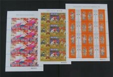 nystamps Macao Stamp # 876a//906a Mint OG NH $38 Sheets   n20y1488