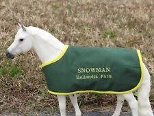 Snowman champion blanket for hunter jumper show jumping Breyer horse