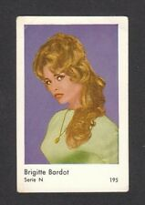 Brigitte Bardot 1960s Movie Film Card Look! from Sweden #N195