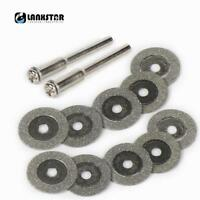 Diamond Cutting Disc for Dremel Accessories Grinding Circular Saw Blade 12PC