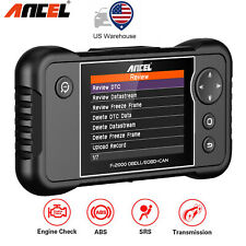 Car OBD2 Scanner Check Engine ABS SRS Transmission Diagnostic Tools Code Reader