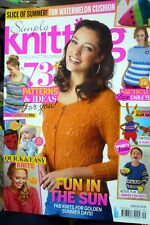 simply knitting magazine september 2016 with Alan Dart tortoise & hare design!