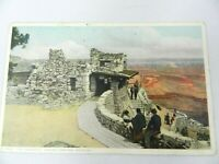Vintage Postcard Grand Canyon National Park Arizona The Lookout 1919