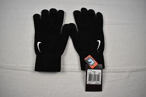 Nike Gloves Men's Black Cotton Winter Gloves NEW Multiple Sizes